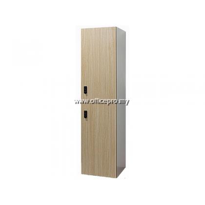 2 Compartment Wooden Locker